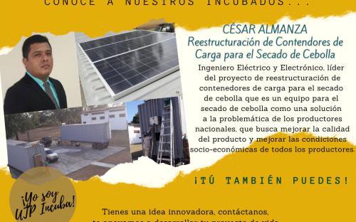 Reestructuración de Contenedores de Carga para el Secado de Cebolla - Ingeniero Eléctrico César Almanza creador.
